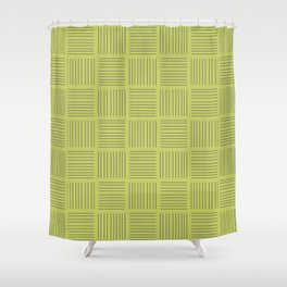 Spirit Rainforest Stripe Shower Curtain