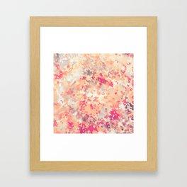 Acid Camouflage Framed Art Print