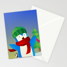 Snowy Pals Stationery Cards