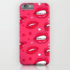 Hot lips iPhone 6s Slim Case