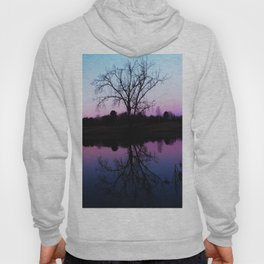 purple dawn I Hoody
