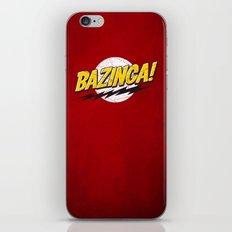Bazinga Flash iPhone & iPod Skin