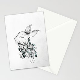 Poetic Rabbit Stationery Cards