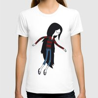 marceline T-shirts featuring Marceline fly by OverClocked