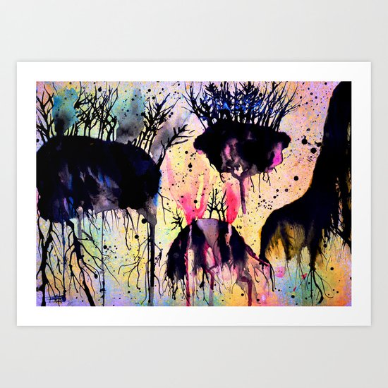 #9 Art Print