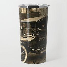 Vintage Police Car Travel Mug