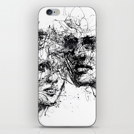 our lines, our story, it isn't a linear path iPhone & iPod Skin