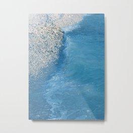 Coral Stones Blue Ocean Dream #1 #tropical #wall #decor #art #society6 Metal Print