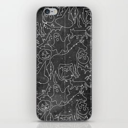 Halloween Spook Unicorn V02 iPhone Skin