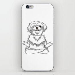 Paws and Meditate iPhone Skin