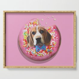 Doggy Donut Serving Tray