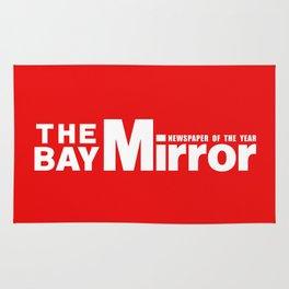 The Bay Miror Logo Rug