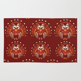 Cute Turkey Bird Rug
