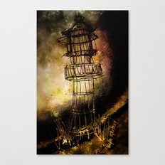Lonely Lighthouse Canvas Print