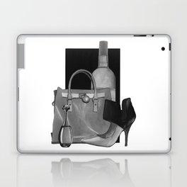 Fashion Illustration - Ink Wash Laptop & iPad Skin