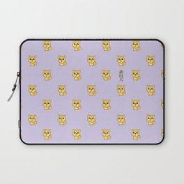 Hachikō, the legendary dog pattern Laptop Sleeve