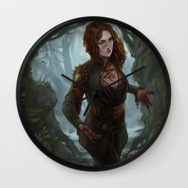 The Offering:Witch Wall Clock