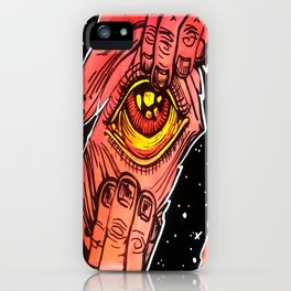 Cosmic Hitchhiker, 2015 iPhone Case