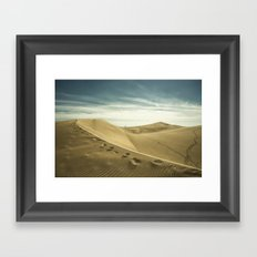 The Sand Dunes of Maspalomas  Framed Art Print