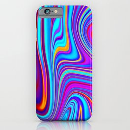 Marble Abstract Art Pattern iPhone Case