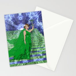 Green Goddess Stationery Cards