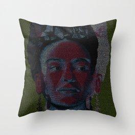 Frida: Screenplay Print Throw Pillow