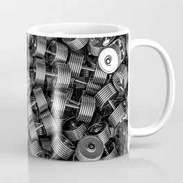 Chrome dumbbells Coffee Mug