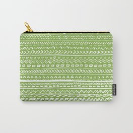Tribal Greenery Carry-All Pouch