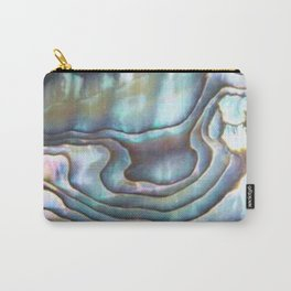 Shimmery Pastel Abalone Shell Carry-All Pouch