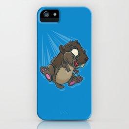 Lemming Base Jumping iPhone Case