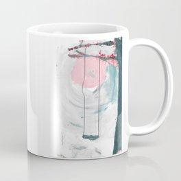 Swing in the Flower Tree Coffee Mug