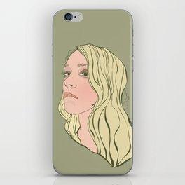 Chloe Sevigny iPhone Skin