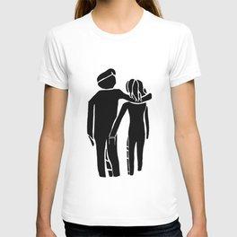 Couple Walking T-shirt
