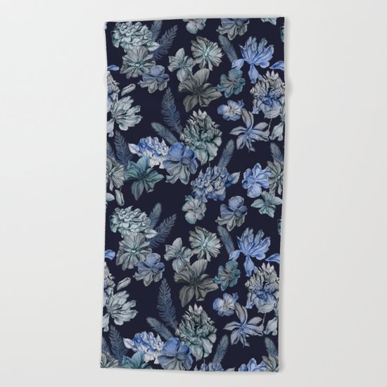 Earth & Sky Indigo Magic Beach Towel