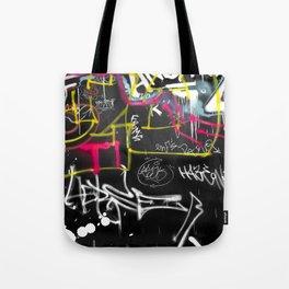New York Traces - Urban Graffiti Tote Bag