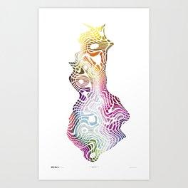 Imagine #013 Art Print