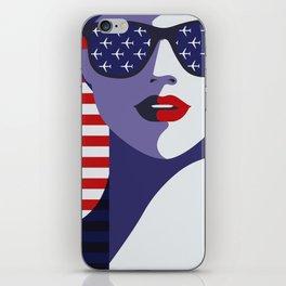 American Stewardess iPhone Skin