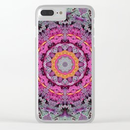 Kale mandala Clear iPhone Case