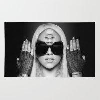 illuminati Area & Throw Rugs featuring Illuminati Princess by ELIAOKO