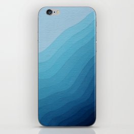 Icy Wave iPhone Skin