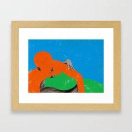 LOVE-12 Framed Art Print