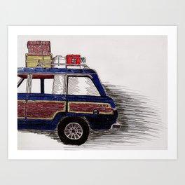 Wagoneer Art Print