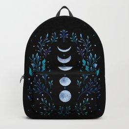 Moonlight Garden - Blue Backpack