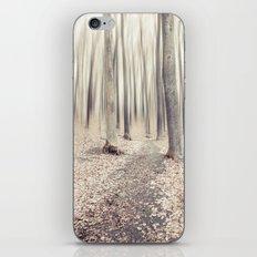 walking through the last days of autumn iPhone & iPod Skin