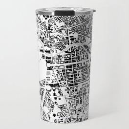 Berlin buildings map Travel Mug