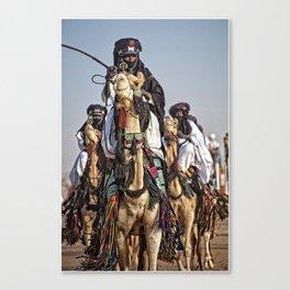 Journey - Tuareg nomads, Africa Canvas Print
