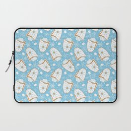Snowing Marshmallow - Cocoa Laptop Sleeve