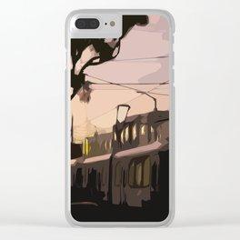 N Line, San Francisco  Clear iPhone Case