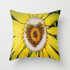 Sunflower of Love Throw Pillow