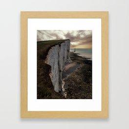 White Cliffs of England Framed Art Print
